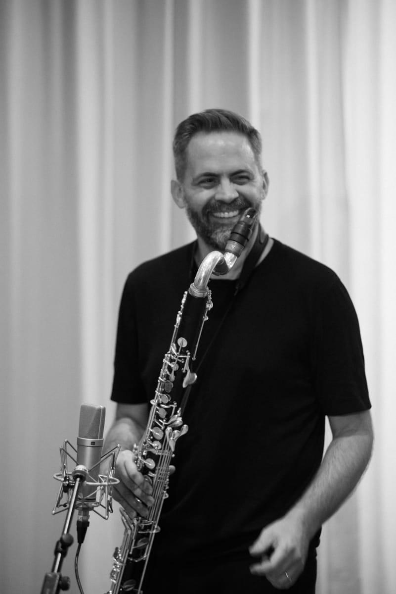 Ulrich Drechsler with Saxophone